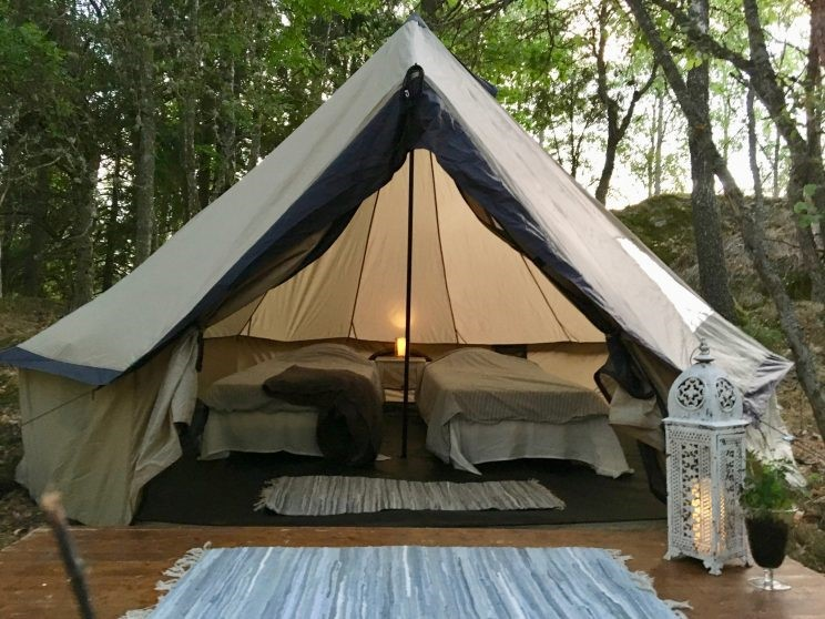 Glamping Sweden, the glamping trend has come to South of Sweden