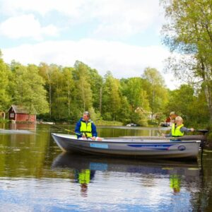 Lake fishing sweden south kalmar